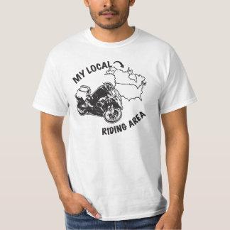 Mein lokale ADV reitenbereich - ich bin überall T-Shirt