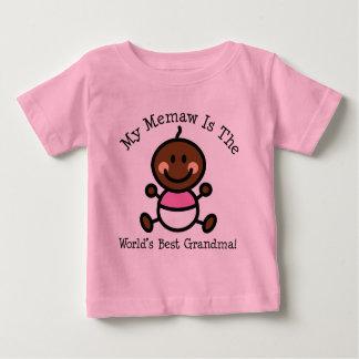 Mein Memaw ist die ethnische Weltbeste Großmutter Baby T-shirt