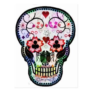Mein mexikanischer Schädel Postkarte