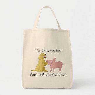 Mein Mitleid sondert nicht ab! vegane Tasche