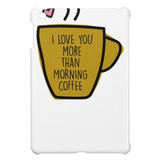 Mein Morgen Kaffee iPad Mini Cover