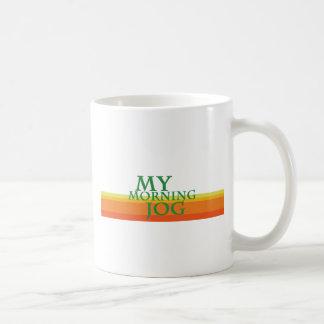 Mein Morgen-Stoß Kaffeetasse