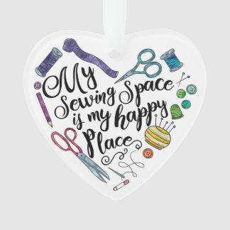 Mein nähender Raum ist meine glückliche Ornament