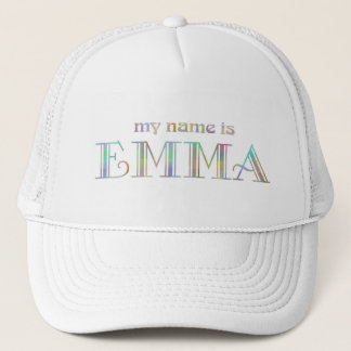 Mein Name ist Emma Truckerkappe