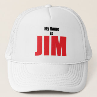 Mein Name ist Jim Truckerkappe