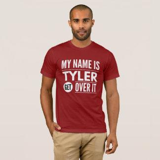 Mein Name ist Tyler erhalten über ihm T-Shirt