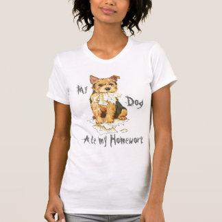 Mein Norwich-Terrier aß meine Hausaufgaben T-Shirt
