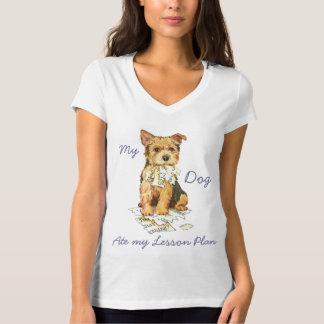 Mein Norwich Terrier aß meinen Unterrichtsplan T-Shirt