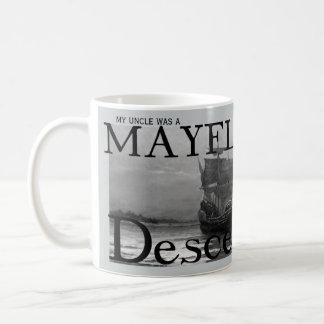 Mein Onkel war ein Mayflower Nachkomme Kaffeetasse