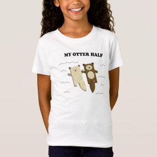 Mein Otter halb T-Shirt