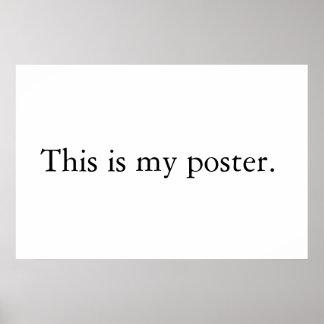 Mein Plakat