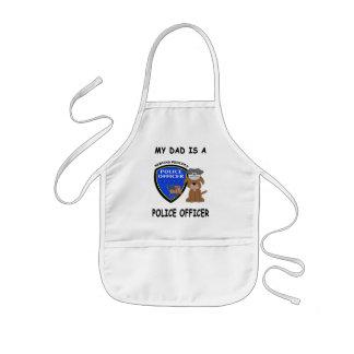 Mein Polizei-Vati Kinderschürze