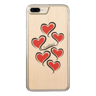 Mein Schatz-Valentinsgruß Carved iPhone 8 Plus/7 Plus Hülle