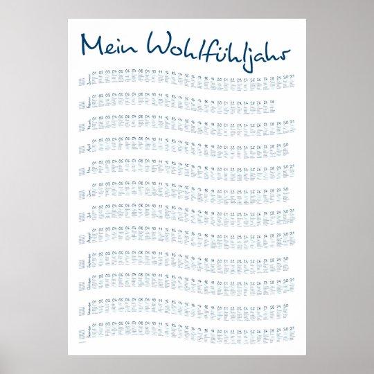 Mein Schiff Kalender Poster