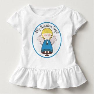 Mein Schutzengel blond mit blauem Kleid
