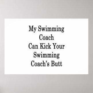 Mein Schwimmen-Trainer kann das B Ihres Poster