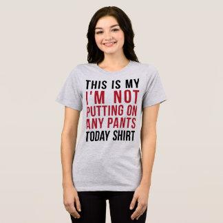 Mein setze mich ich nicht auf irgendein T-Shirt
