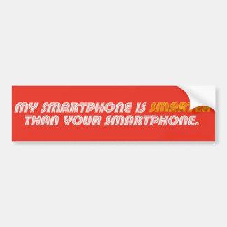 Mein Smartphone ist intelligenterer Autoaufkleber