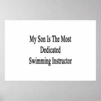 Mein Sohn ist der engagierteste Schwimmen-Lehrer Poster