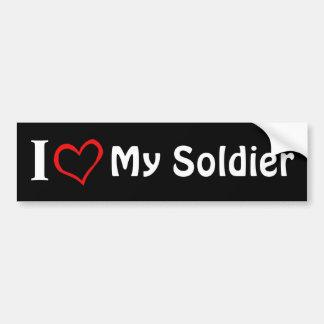 Mein Soldat Autoaufkleber