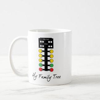 Mein Stammbaum - Widerstand, der Weihnachtsbaum Kaffeetasse