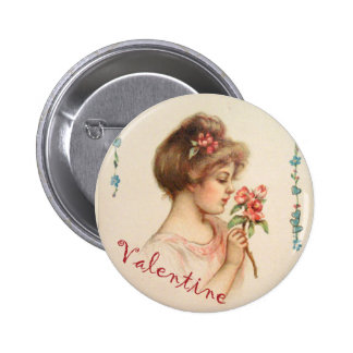 Mein süßer Valentinsgruß-Knopf Anstecknadelbutton