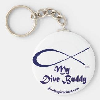 Mein Tauchen-Freund Keychain Schlüsselanhänger