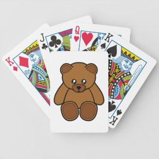 Mein Teddybär Bicycle Spielkarten