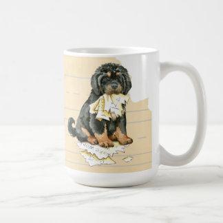 Mein tibetanischer Mastiff aß meine Hausaufgaben Kaffeetasse