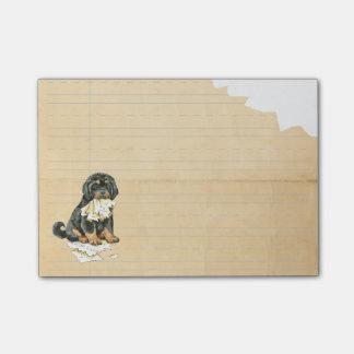 Mein tibetanischer Mastiff aß meine Hausaufgaben Post-it Haftnotiz