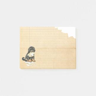 Mein tibetanischer Mastiff aß meine Hausaufgaben Post-it Klebezettel