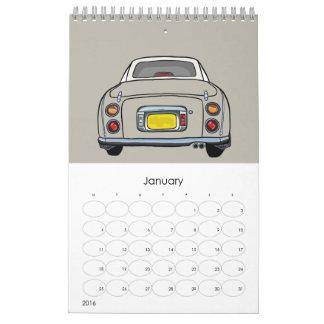 Mein Topaz-Nebel Figaro kleiner Wandkalender