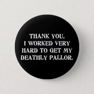Mein totenPallor Runder Button 5,1 Cm
