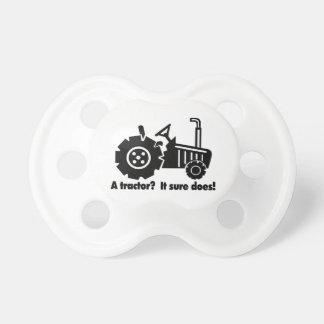 Mein Traktor ist ein Küken-Magnet Schnuller