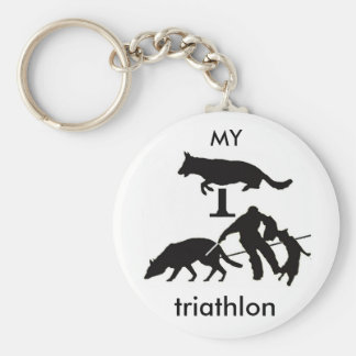 Mein Triathlon Schlüsselanhänger