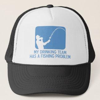 Mein trinkendes Team hat ein Fischen-Problem Truckerkappe