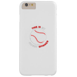 Mein Unruhe-Spinner-Softball-Baseball-lustiges Barely There iPhone 6 Plus Hülle