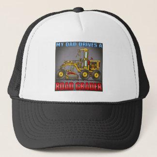 Mein Vati fährt einen Straßen-Sortierer-Hut Truckerkappe