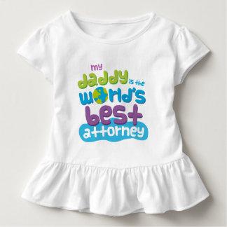 Mein Vati ist der Weltbeste Rechtsanwalts-T - Kleinkind T-shirt