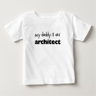 Mein Vati ist ein Architekt Baby T-shirt