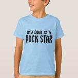 Mein Vati ist ein Rockstar Tshirts