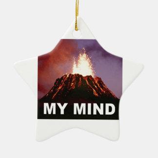 mein Vulkanverstand Keramik Ornament