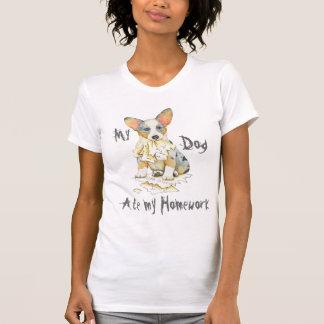 Mein Wolljacken-WaliserCorgi aß meine Hausaufgaben T-Shirt