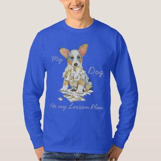 Mein Wolljacken-WaliserCorgi aß meinen T-Shirt