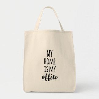 Mein Zuhause ist mein Büro Einkaufstasche