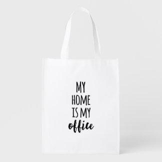 Mein Zuhause ist mein Büro Einkaufstaschen