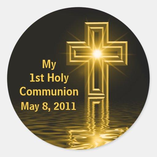 Meine 1. heilige Kommunions-Aufkleber