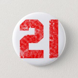 Meine 21. Geburtstags-Geschenke Runder Button 5,7 Cm