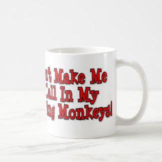 Meine Affen Kaffeetasse