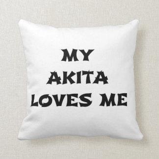 meine Akita-Lieben ich Kissen